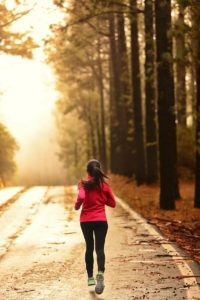running am